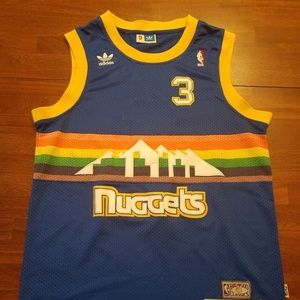 sports shoes da5a7 1b58a Ty Lawson Denver Nuggets Vintage Throwback Jersey